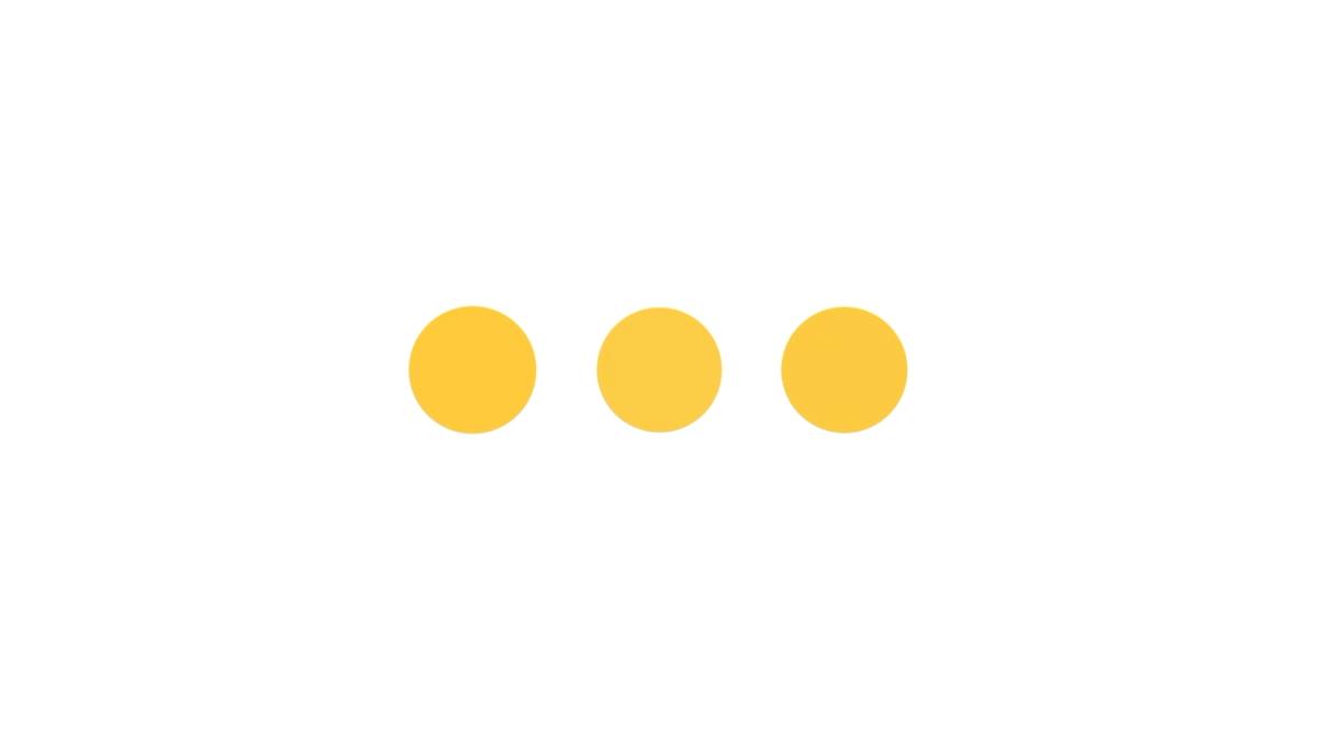 3 dot animation